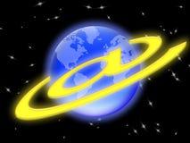Email nel mondo (02) Fotografia Stock Libera da Diritti