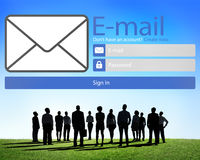 Email Online Messaging Social Media Internet Concept Royalty Free Stock Photo