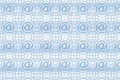 Email Pattern Background Royalty Free Stock Photos