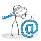 Email phising ilustracja ilustracja wektor