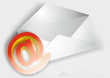 Email. Picture e-mail for what realties Royalty Free Stock Images