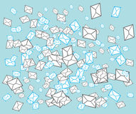 Email post envelope concept Stock Image