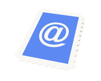 Email Postage stamp Stock Image