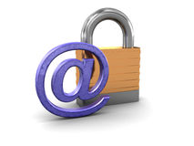 Email protection Royalty Free Stock Image