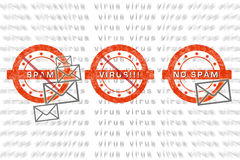 Email protection stock image