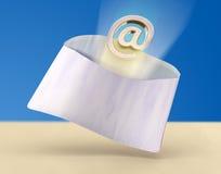Email rápido Fotografia de Stock