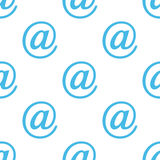 Email seamless pattern Royalty Free Stock Images