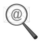 Email Search Stock Photo