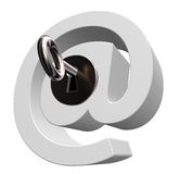 Email security Royalty Free Stock Photo