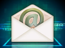 Email service Royalty Free Stock Image