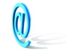 Email Sign. 3d rendered email sign - internet design vector illustration