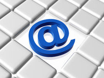 Email sign Royalty Free Stock Image