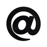 Email at sign royalty free stock image