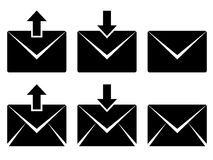 Email signs Stock Images