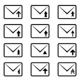 Email signs Stock Photos