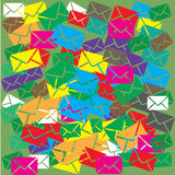 Email or sms background concept Royalty Free Stock Images