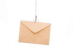 Email som phishing Arkivfoto