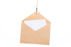 Email som phishing Arkivbild