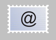 Email stamp Stock Images