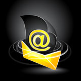 Email Symbol vector illustration