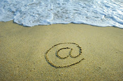 Email symbol Royalty Free Stock Photos
