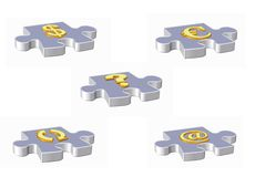 Email symbol. 3d email symbol - computer generated clipart Stock Photos