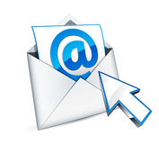 Email symbol Stock Photos
