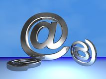 Email symbol Royalty Free Stock Photography