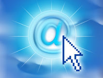 Email symbol. Computer generated email symbol vector illustration