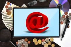 Email symbol Stock Photo