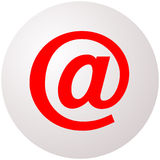 Email Symbol Sphere Royalty Free Stock Image