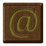 Email symbol Royalty Free Stock Image