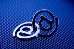 EMail-Symbole lizenzfreies stockfoto
