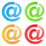 Email Symbols Royalty Free Stock Photo
