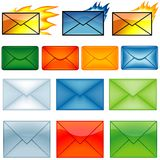 Email Symbols Stock Photos