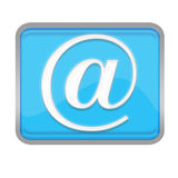 Email symbols Stock Photo