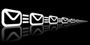 Email symbols Stock Image