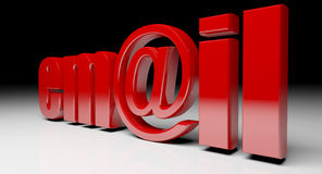 Email text Stock Images
