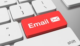 Send Email Royalty Free Stock Photography