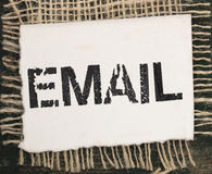 Email title Royalty Free Stock Photos