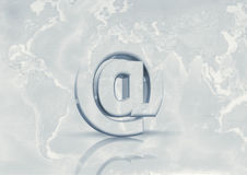 Email in tutto il mondo Fotografie Stock
