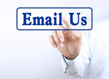 Email us Royalty Free Stock Images