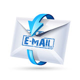 Email. Vector vector illustration