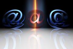 Email virus Royalty Free Stock Photos