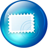 Email web button royalty free illustration