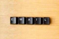Email word Stock Photos