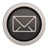 Emaila 3d symbol odizolowywający na białym tle ilustracja 3 d ilustracji