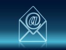 Emaila i koperty znak Obraz Royalty Free