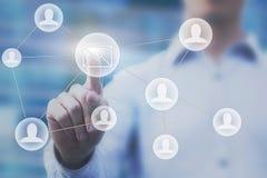 Emaila marketingowy pojęcie Zdjęcie Stock