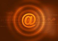 emaila symbol Zdjęcie Stock